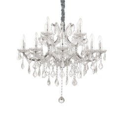 crystal chandelier NAPOLEON Ø73cm 12 arms with SPECTRA® Crystal by Swarovski