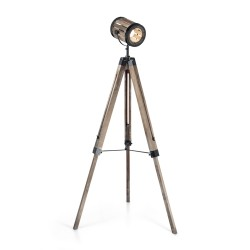 floor lamp TORCHIO PT1 wood
