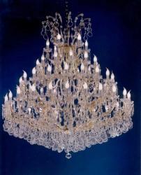 45 arms crystal chandelier Ø 150cm made with SWAROVSKI® crystals
