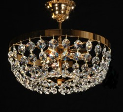 crystal ceiling lamp Ø30cm with TRAUMKRISTALL©