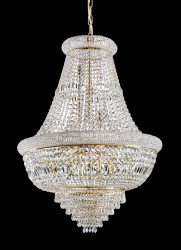Imperial Chandelier Ø80cm chrome or gold