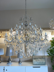 chandelier 30 arms made with SPECTRA® Crystal by SWAROVSKI