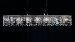 117cm pendant luminaire with SPECTRA® Crystal by Swarovski