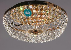 ceiling lamp Ø60cm made with SPECTRA® Crystal by Swarovski MSRP 1899¤