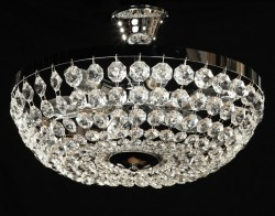 Venice ceiling lamp Ø40cm gold or chrome MSRP 249¤