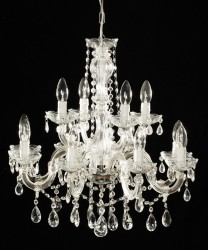 Venice crystal chandelier 12 arms MSRP -329¤