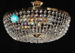 ceiling lamp Ø50cm made with SPECTRA® Crystal by Swarovski
