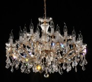 crystal chandelier 18 arms Ø80cm chrom or gold MSRP 1699¤