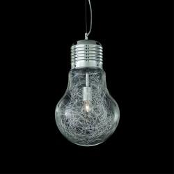 pendant lamp LUCE MAX Ø30cm transparent