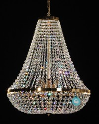 chandelier Ø60cm made with SPECTRA® Crystal by SWAROVSKI MSRP 1699¤