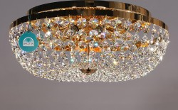 ceiling lamp Ø40cm made with SPECTRA® Crystal by Swarovski MSRP 1299¤