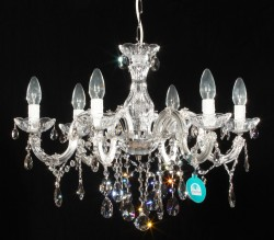 chandelier 6 arms made with SPECTRA® Crystal by SWAROVSKI <s>449€</s>