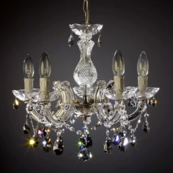 chandelier 5 arms made with SPECTRA® Crystal by SWAROVSKI MSRP 369¤