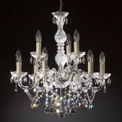 chandelier 9 arms made with SPECTRA® Crystal by SWAROVSKI MSRP 599¤