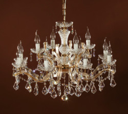 chandelier 12 arms made with SPECTRA® Crystal by SWAROVSKI MSRP 1399¤
