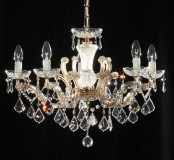 chandelier 5 arms made with SPECTRA® Crystal by SWAROVSKI MSRP 799¤
