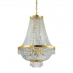 IMPERIAL Kronleuchter Ø55cm gefertigt mit SPECTRA® Crystal von SWAROVSKI