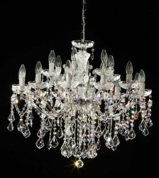 chandelier 18 arms made with SPECTRA® Crystal by SWAROVSKI MSRP 1399¤
