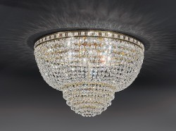 ceiling lamp Amsterdam Ø60cm gold-plated or nickel-plated MSRP 1469¤