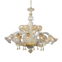 crystal chandelier CADORO 8 arms Ø85cm